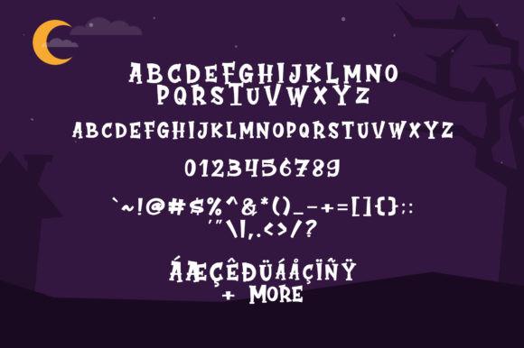 Cute Ghost Font
