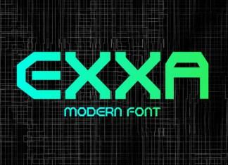 Exxa Font