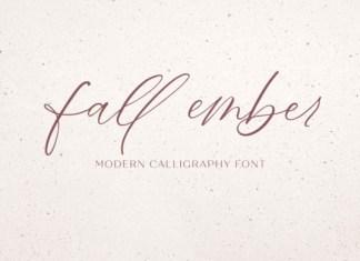 Fall Ember Font
