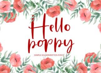 Hello Poppy Font