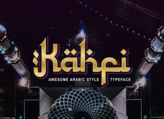 Kahfi Font