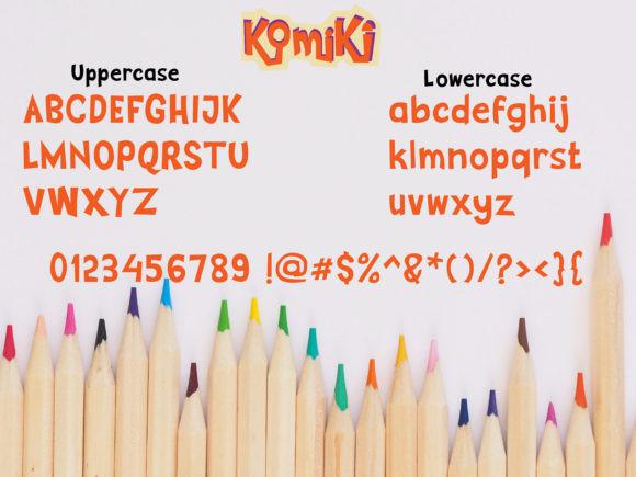Komiki Font