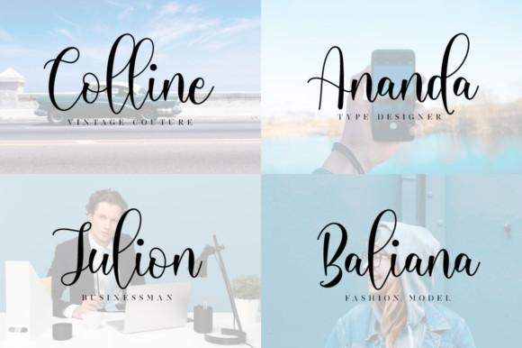 Michalina Script Font