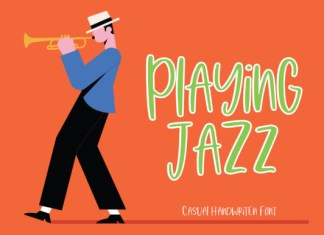Playing Jazz Font