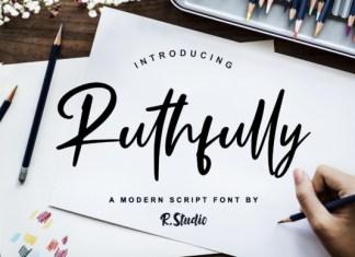 Ruthfully Font