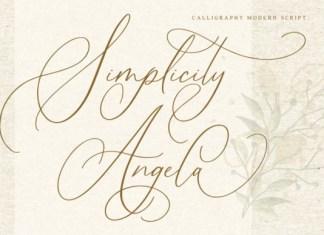 Simplicity Angela Font