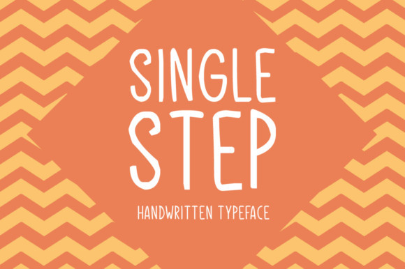 Single Step Font