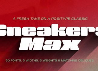 Sneakers Max Font
