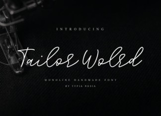 Tailor World Font
