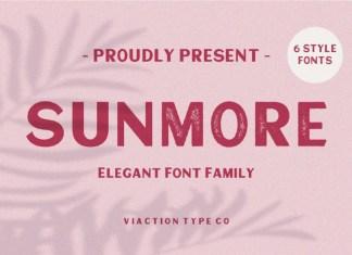 Sunmore Font
