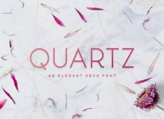 Quartz - Deco Font