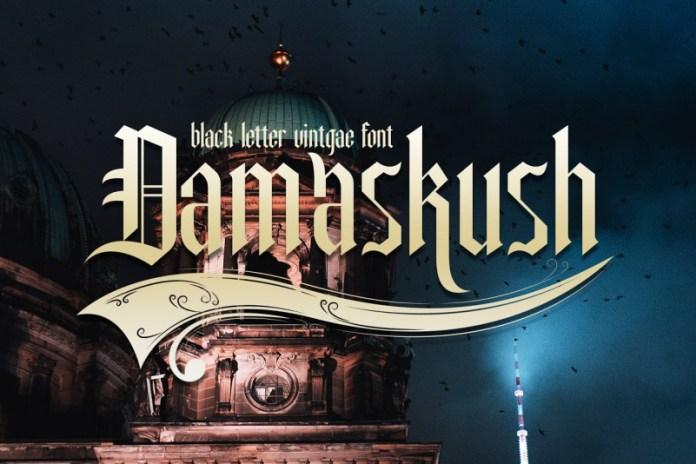 Damaskush Font