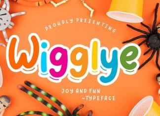 Wigglye Joy & Fun Font