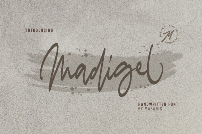 Madigel // Handwritten Font