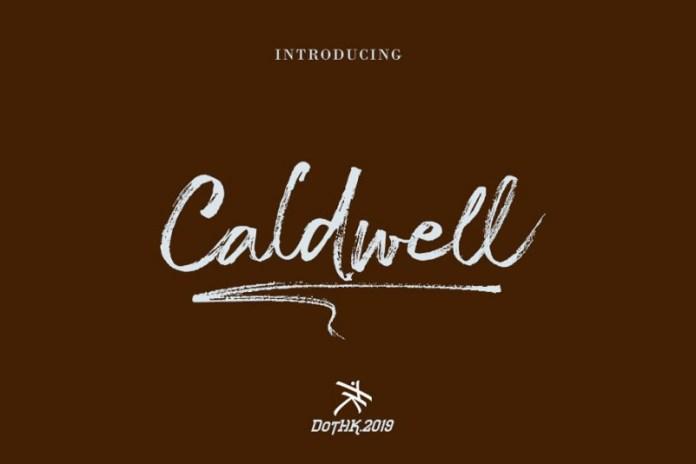The Caldwel Font