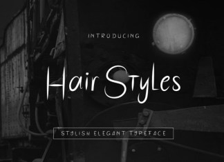 HairStyles Font