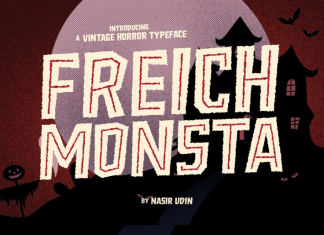 Freich Monsta Fonts