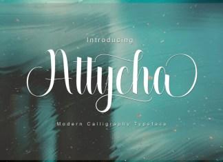 Attycha Font