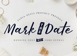Mark The Date Font