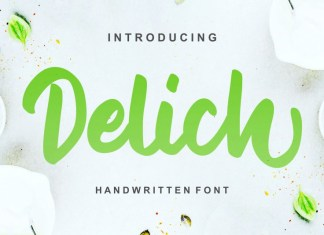 Delich Font
