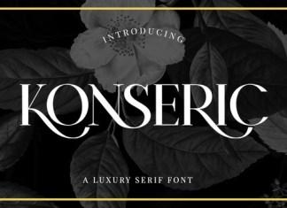 Konseric Font