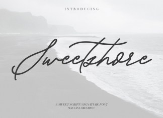 Sweetshore Casual Font