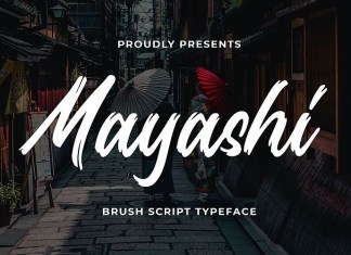 Mayashi Font