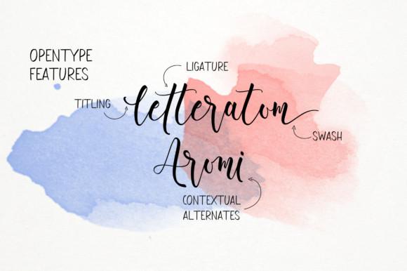 Aromi Font