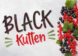 Black Kutten Font