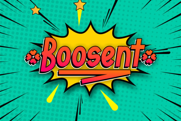 Boosent Font