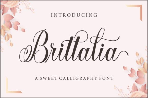 Brittalia Font