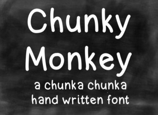 Chunky Money Font