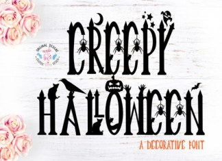 Creepy Halloween Font