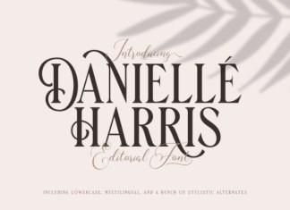 Danielle Harris Font