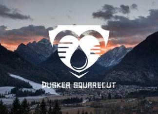 Dusker SquareCut Font