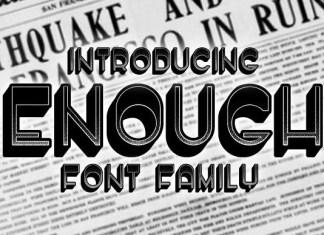 Enough Font
