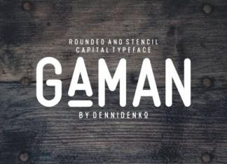 Gaman Font