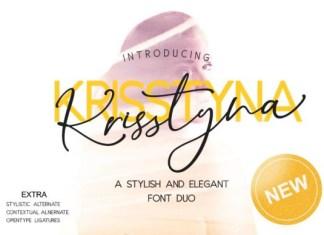 Krisstyna Duo Font