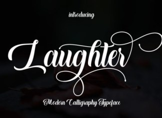 Laughter Font