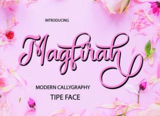 Magfirah Font