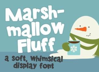 Marshmallow Fluff Font