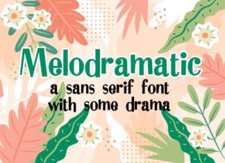Melodramatic Font