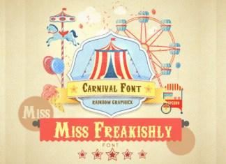 Miss Freakishly Font