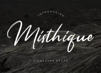 Misthique Font