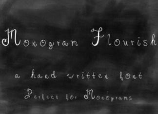 Monogram Flourish Font