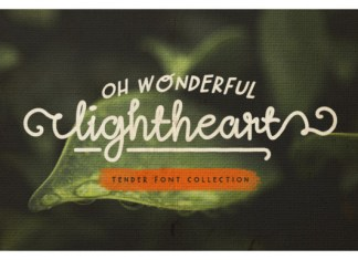 Oh Wonderful Lightheart Font
