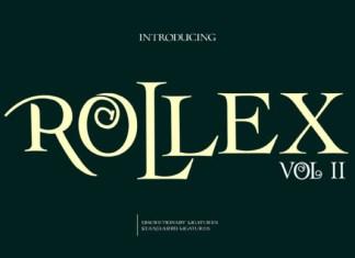 Rollex II Font