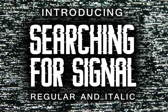 Searching for Signal Font