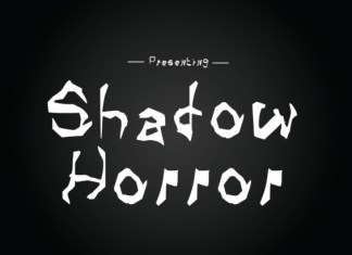 Shadow Horror Font
