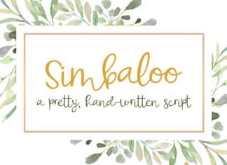 Simbaloo Font